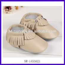 SR-14SS021 new leather designer baby shoes newborn funny baby shoes fashion flat baby girl shoes