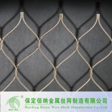 High Quality Fence Stainless Steel Wire Rope Mesh Fence