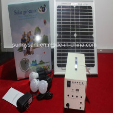 10W Solar Home Lighting System for Indoor Lighting Use