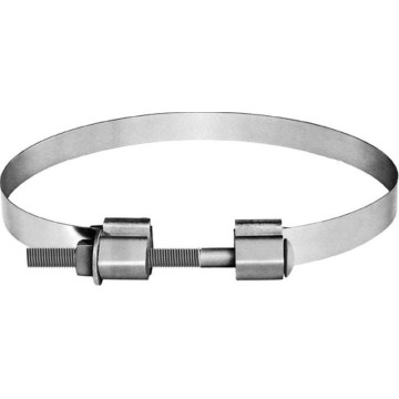 ISO Certifacate Factory Cable Fittings Galvanized Pole Clamp