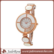 Rosegold Elegant Mop Dial Lady Wrist Watch