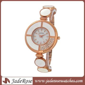 Reloj de alta calidad de la aleación del diamante de las señoras de 2015 señoras