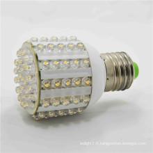 Haute luminosité 100lm / w 5w led e27 ampoule AC220v 2 ans d'entrepôt de garantie conduit lumière de maïs