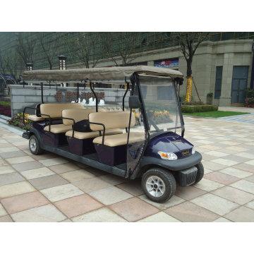 Дешевые 11 пассажирских мест Электрический sightseeing автомобиль для продажи