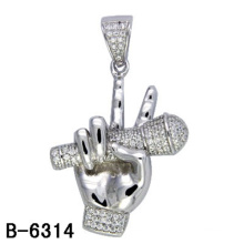 New Design Hip Hop Jewelry Pendant Silver 925