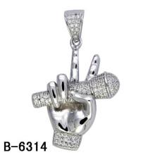 New Design Hip Hop Jewelry Pendant Silver 925