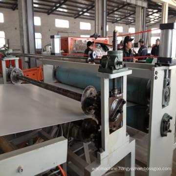 PVC Plastic Machinery Celuka Foam Board Production Line
