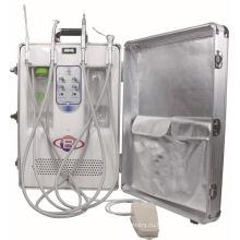 Портативная стоматологическая установка с бесшумным компрессором (Bd-406A)