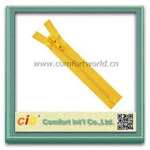 Flexible Custom #10 Plastic Exposed Zippers