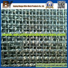 Acero inoxidable de malla de alambre prensado para la protección
