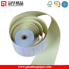 ISO 76mm Width 3-Ply Carbonless Paper Made of Copy Paper