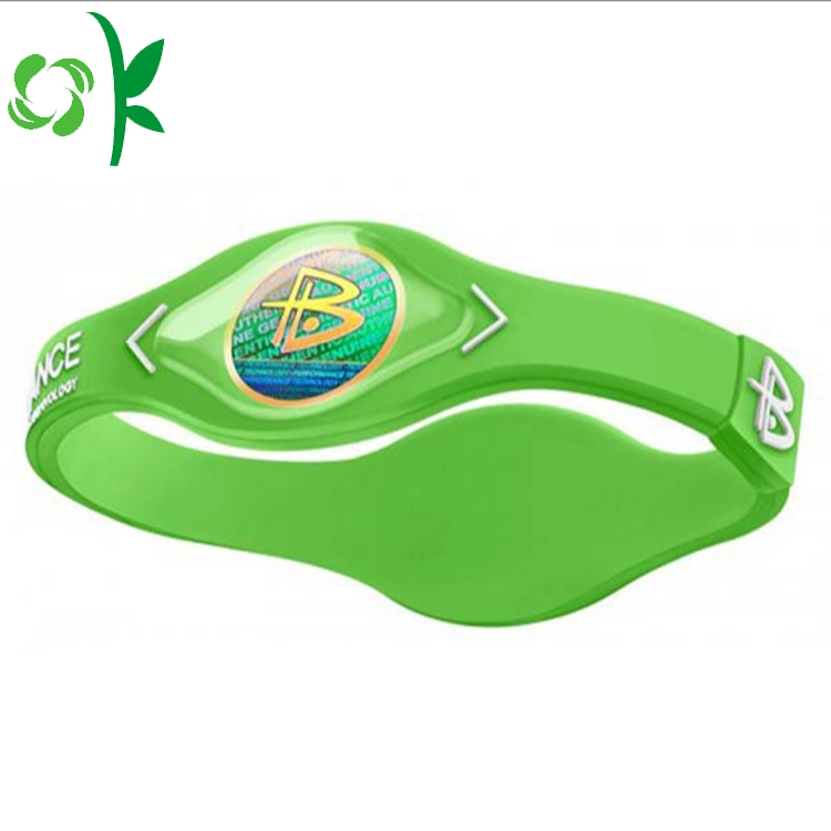 Basketball Silicone Energy Wristbands