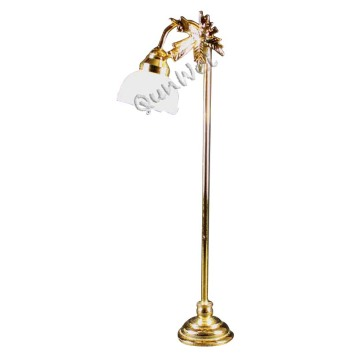 Dollhouse miniature LED floor lamp for living room