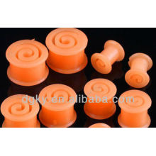 Silicone Piercing For Helix flesh plug Plugs Tunnel
