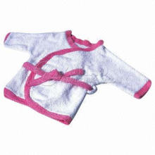 Wholesale Baby Robe, Made of Coral Fleece, Available in Various Sizes and Colors