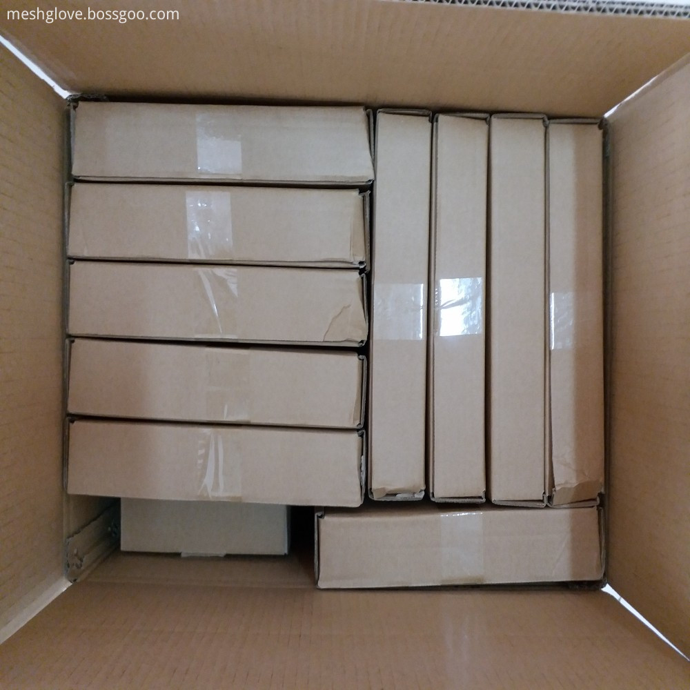 Dubetter Chainmail cut resistant apron carton packing