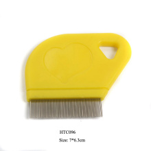 OEM Supply for Pet Combs,Pet Lice Comb,Pet Flea Comb Manufacturers and Suppliers in China plastic pocket lice comb supply to Reunion Supplier