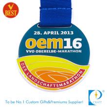High Quality Enamel Running Award Souvenir Marathon Medal