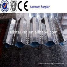 Automatic 688 Galvanized Roofing Sheet Floor Deck Roll Forming Machine