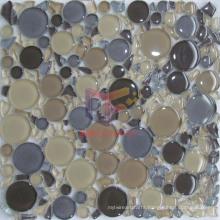 Lovely Shape High Quality Crystal Mosaic (CFC315)