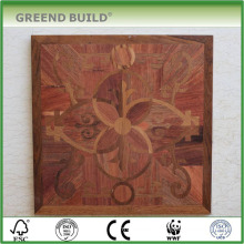 Brown Oak french furniture art parquet floor