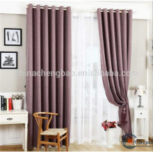 China wholesale luxury chenille fabric hotel curtains