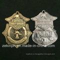 Изделия изготовленные на заказ полиции сплава цинка металл Латунь медаль для продажи