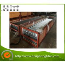 Tubo de cobre L tipo tubo de aletas de troca de calor