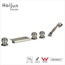 Haijun Bulk Items Artistic Surface Brushed Nickle Bathroom Shower Taps Faucets