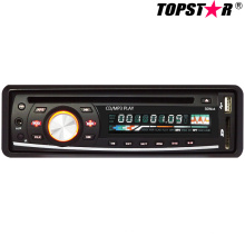 Ein DIN Fixed Panel Auto DVD Spieler Ts-6007f