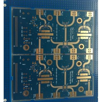 6 lager FR4 + Rogers 4350B PCB