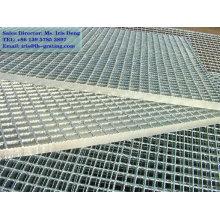 Grade de pavimentos industriais galvanizados