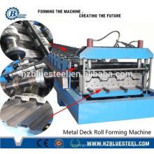 Steel Floor Deck Rolling Machine, Decking Roll Forming Machine, Floor Tile Making Machine