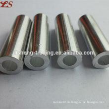 Hülsen flache Rohr Stahl Ferrules