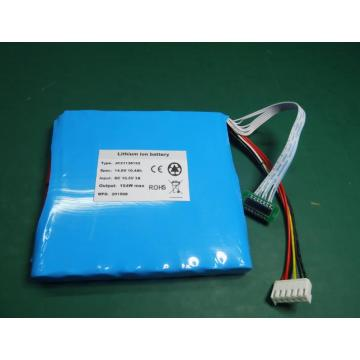 14.8V 10.4Ah rechargeable lipo battery with SMBUS