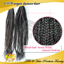 Remy Brazilian Micro Hair Braid Extensions Cheap X-pression Braid Hair Wholesale