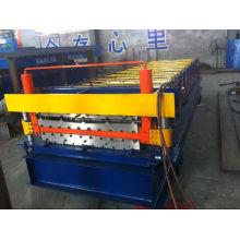 ISO9001: 2000 Baumaterial-Überdachungs-Blatt-Rolle, die Maschine bildet