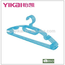2015 strong durable economic plastic trousers and belt clothes hanger