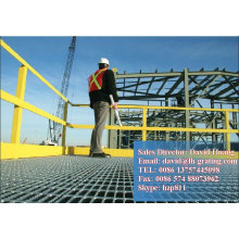 Capacidade de grade de piso galvanizado, dimensão de grade de aço, tamanho de grade de aço