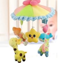 Pädagogisches Cartoon Spielzeug 9 in 1 Plüschtier Babyrassel mit Musik und Licht (10220294)