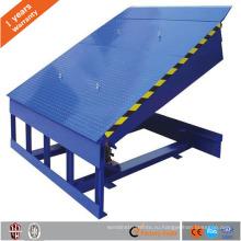 Одобренный CE Стационарный гидравлический перегрузочный мост, используемый для контейнерного склада