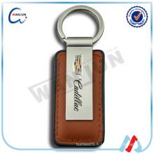 Porte-clés en cuir de voiture