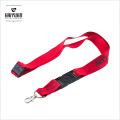 100% poliéster impresión rojo cordón con seguridad Breakaway accesorios