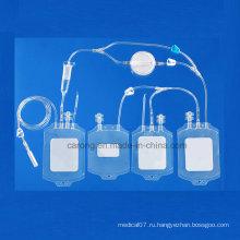 Медицинский одноразовый мешок из ПВХ для использования в больнице