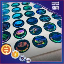 PET 3D Design Hologram Sticker Label