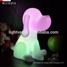 De calidad superior perro y gato animal forma pequeña luz de la noche