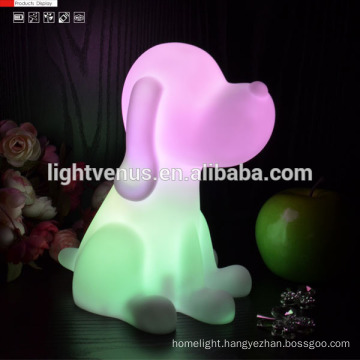 Top quality animal dog and cat shape small night light