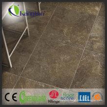 100% Waterproof Woven PVC Tile Commercial Vinyl Plank Flooring, Ce