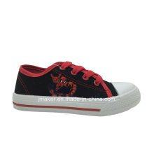 Spide Man Printing Children Canvas Shoes (X171-S&B)