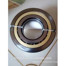 8x19x6mm, anillo de acero, bola de cerámica, jaula de metal, sin sello (abierto), P2 rodamiento de bolas de contacto angular 719/8